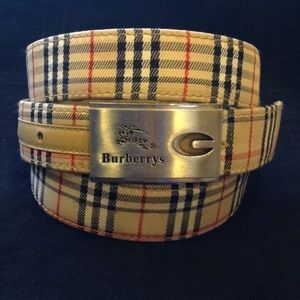 Burberry Sz 120/48 Belt